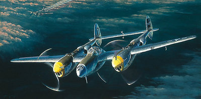 William Phillips - Top Cover for the Straggler (P-38)