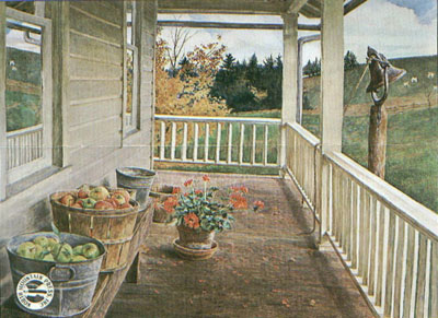David Armstrong - Autumn Porch