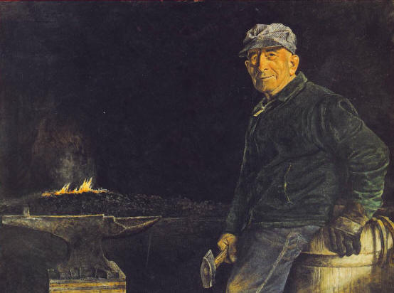 David Armstrong - The Blacksmith