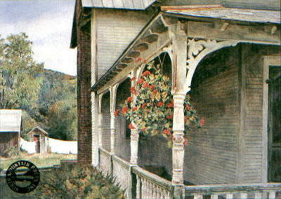 David Armstrong - Side Porch