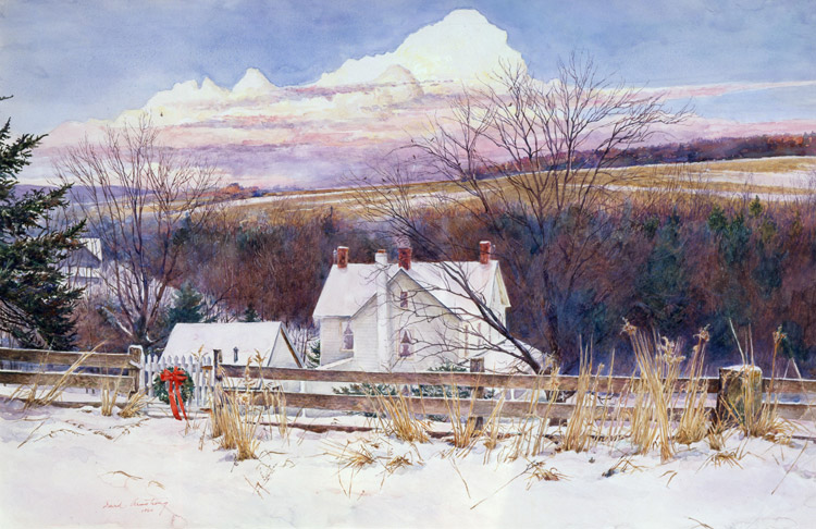 David Armstrong - Farm, Christmas Eve