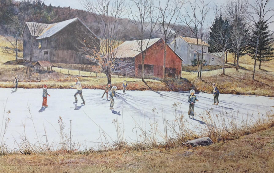 David Armstrong - Farm Pond