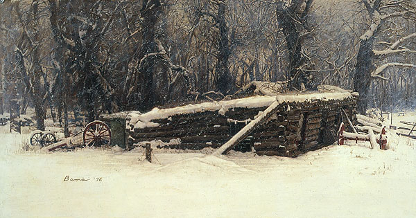 James Bama - Old Sod House