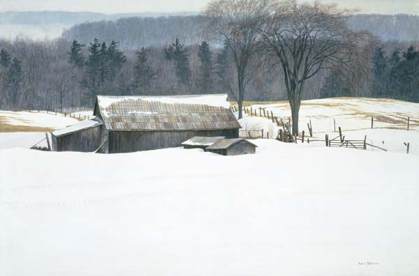 Robert Bateman - Along Walker's Line