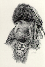 Paul Calle - The Fur Trapper