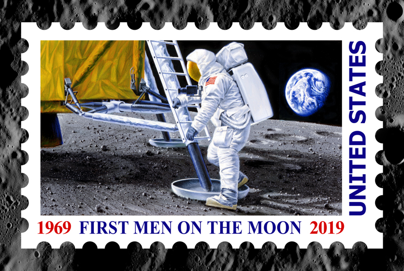 Chris Calle - 50th Anniversary - First Men on the Moon