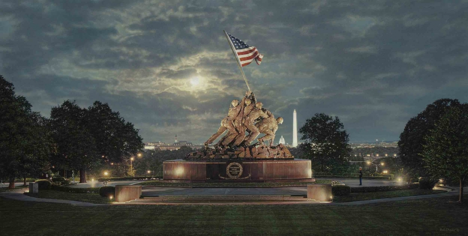 Rod Chase - Uncommon Valor - The United States Marine Corps War Memorial