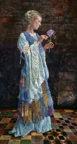 James Christensen - The Beggar Princess and the Magic Rose