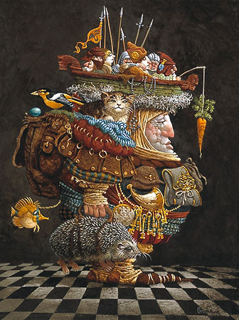 James Christensen - The Burden of the Responsible Man