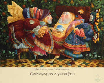 James Christensen - Conversation Around Fish