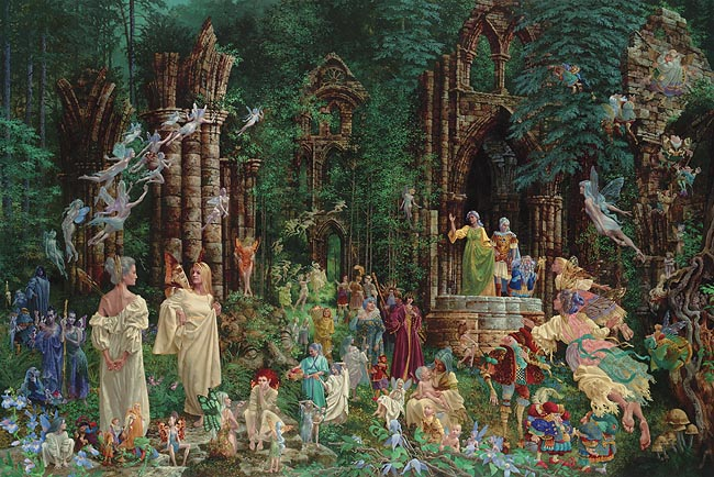James Christensen - Court of the Faeries - Believer's Edition