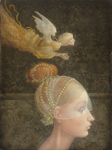 James Christensen - Angel Unobserved
