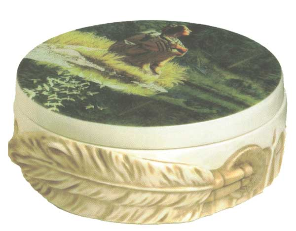 Bev Doolittle - Let My Spirit Soar - Porcelain Box