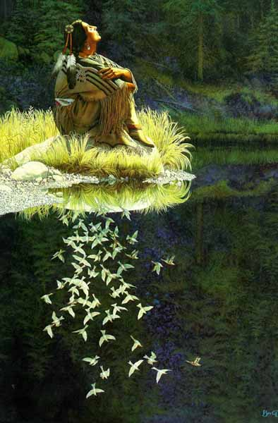 Bev Doolittle - Let My Spirit Soar