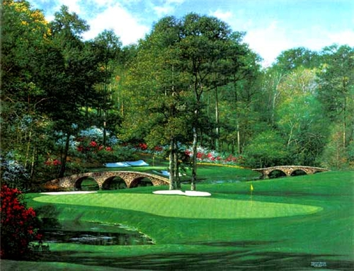 Larry Dyke - The 11th at Augusta