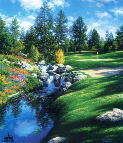 Larry Dyke - The 12th at Castle Pines