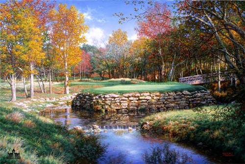 Larry Dyke - The 13th at Valhalla