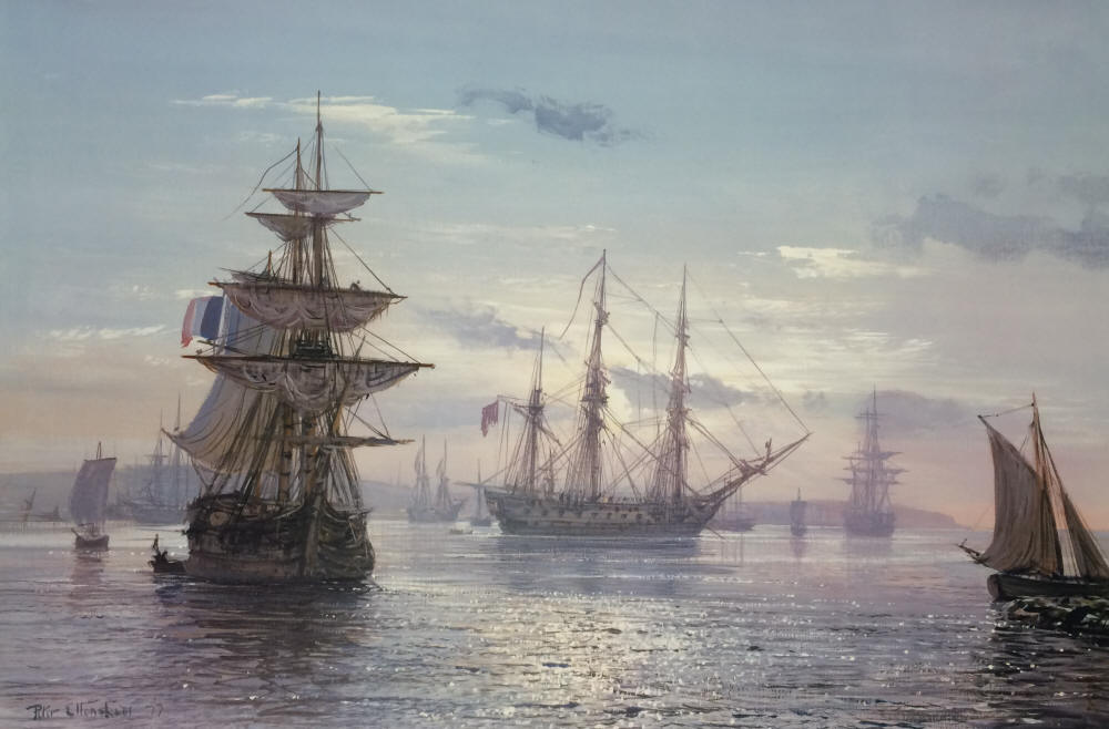 Peter Ellenshaw - The Great Age of Sail