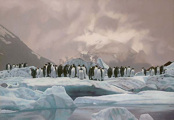 Rod Frederick - The Emperors' Ball - Penguins