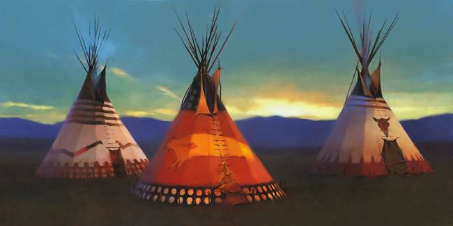 R. Tom Gilleon - Blackfeet Country