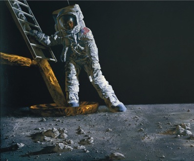 Paul Calle - The Great Moment (Apollo 11)