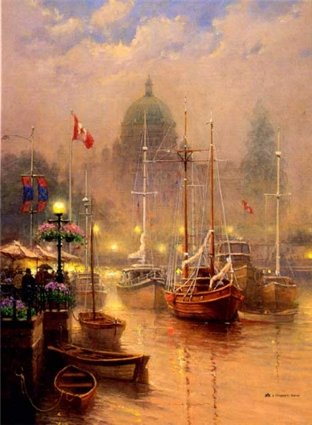 G. Harvey - Harbor Fog