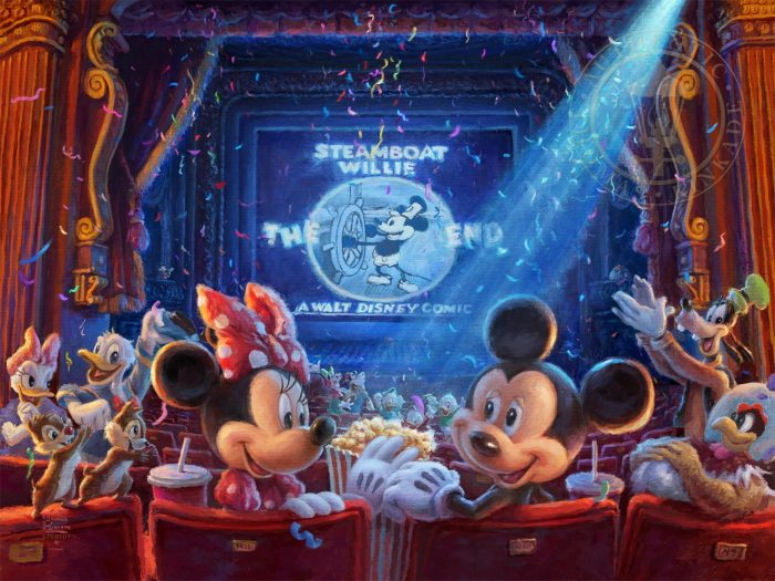 Thomas Kinkade - 90 Years of Mickey