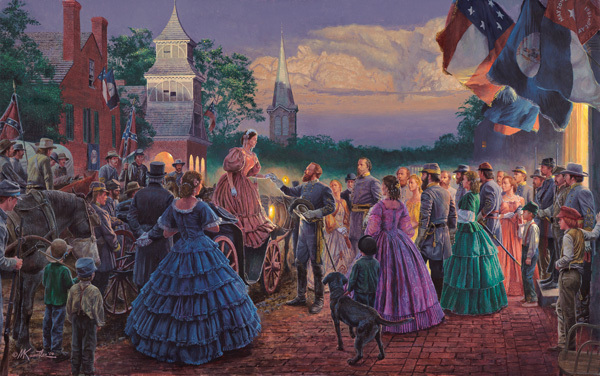 Mort Kunstler - Before the Ball