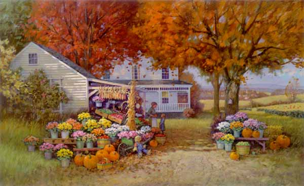 Paul Landry - Aunt Martha's Autumn Heirloom