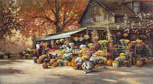 Paul Landry - Autumn Market