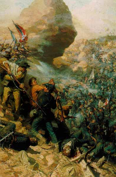Tom Lovell - The Battle of the Crater