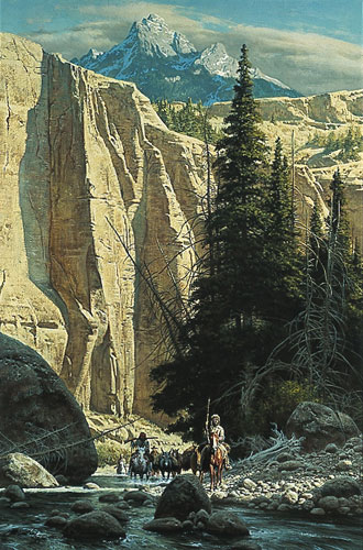 Frank McCarthy - Along the West Fork
