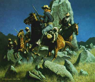 Frank McCarthy - Ambush at the Ancient Rocks