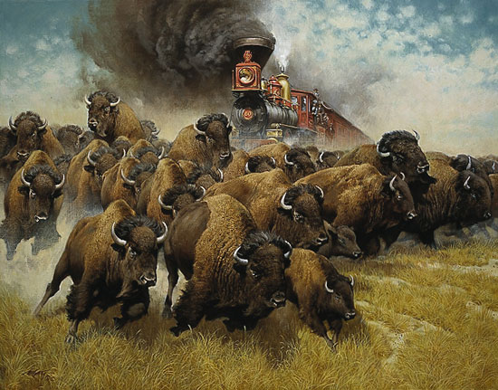 Frank McCarthy - The Coming of the Iron Horse