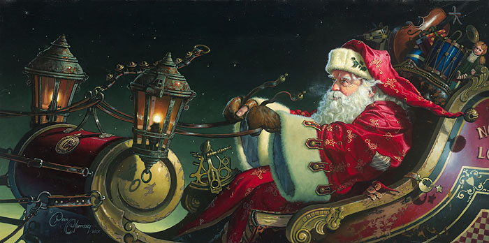 Dean Morrissey - Father Christmas: The Sleigh Ride