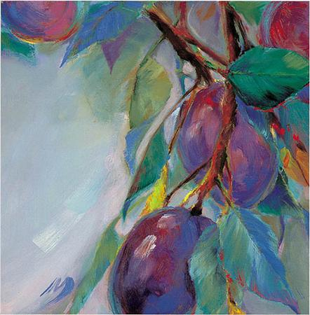 Mary Worcester Newell - Plums