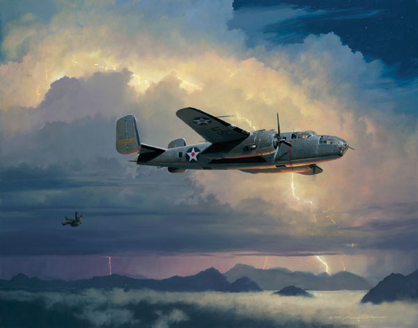 William Phillips - Into the Arms of the Dragon (B-25)