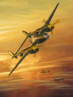 William Phillips - Lightning from the Sun (P-38) - Collector's Edition with
