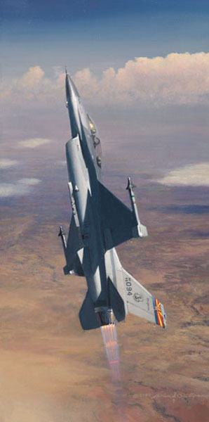 William Phillips - Pride of Arizona (F-16)