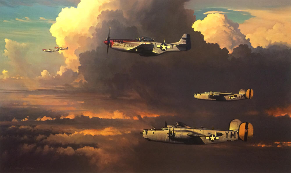 William Phillips - Among the Columns of Thor (B-24)