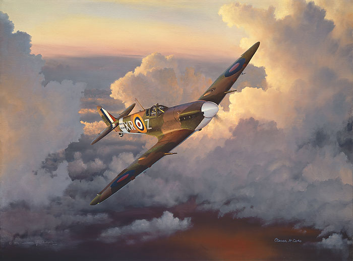 William Phillips - A Time of Eagles (Spitfire)