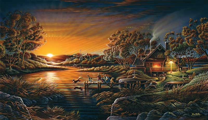 Terry Redlin - Basic Training