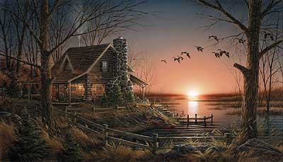 Terry Redlin - Comforts of Home
