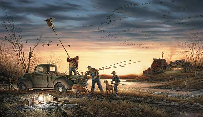 Terry Redlin - The Conservationists