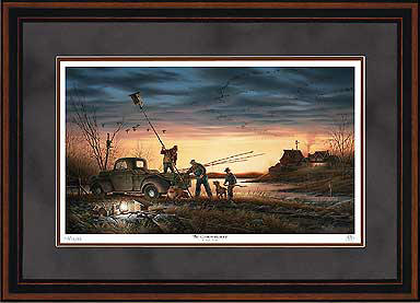 Terry Redlin - The Conservationists - Framed