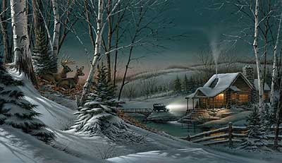 Terry Redlin - Evening with Friends