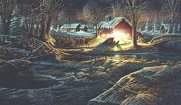 Terry Redlin - Gathering of Friends