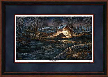 Terry Redlin - Gathering of Friends - Framed