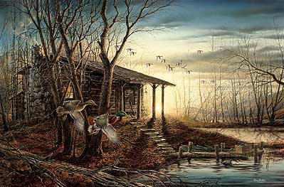 Terry Redlin - Morning Retreat