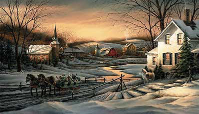 Terry Redlin - Together for the Season